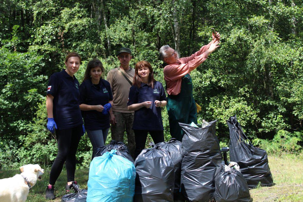 #Pomagamy Środowisku  – sprzątamy Chrzanów
