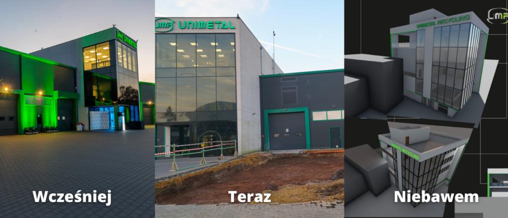 Rozbudowa siedziby głównej w Trzebini
